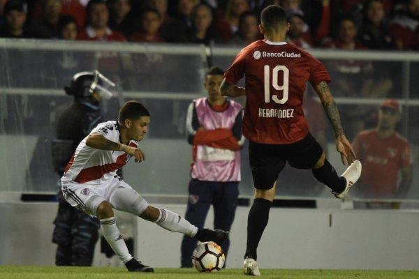 Independiente tendrá que ir al Monumental de River a buscar el triunfo / imagen: Twitter River Plate