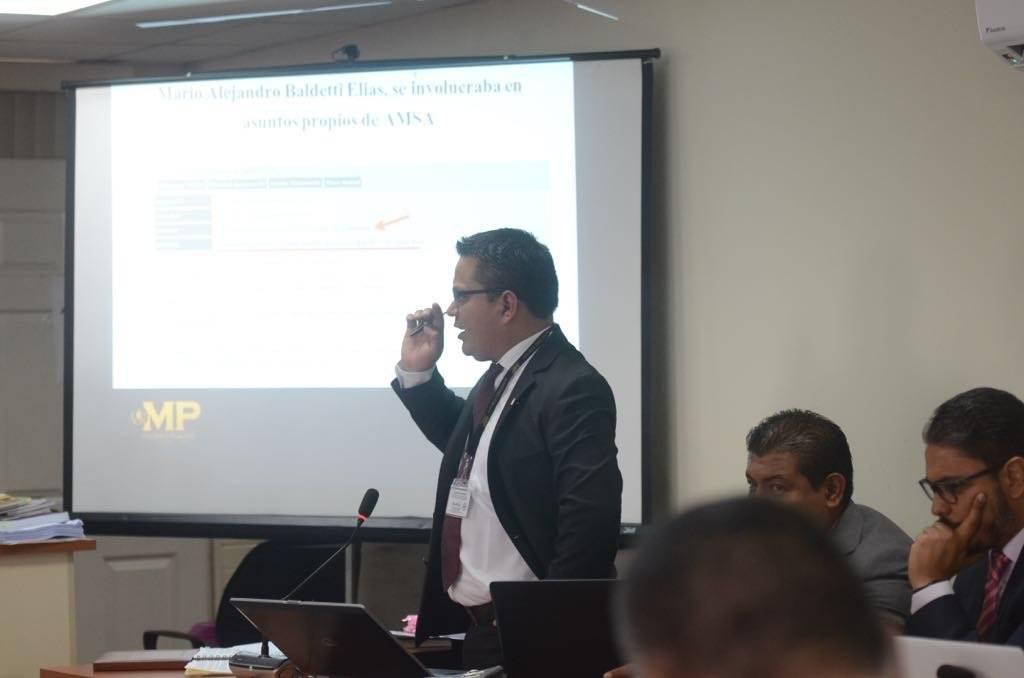 "Fiscal Hugo González, del caso ""Amatitlán"". Foto: Omar Solís"