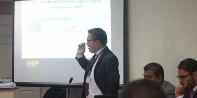 """Fiscal Hugo González, del caso """"Amatitlán""""."""