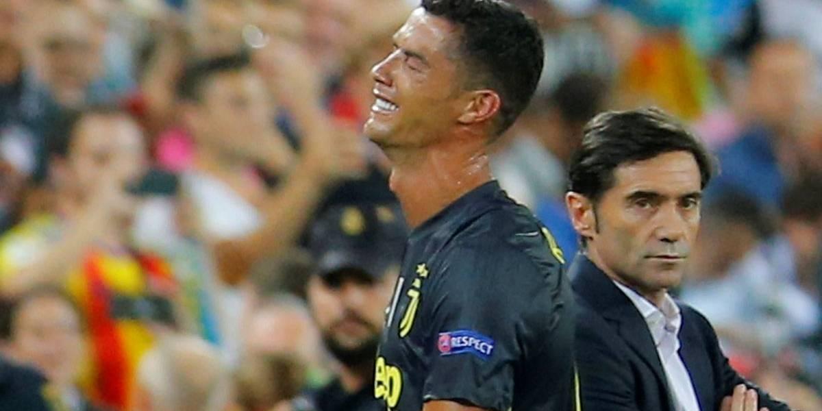 Champions League: Cristiano Ronaldo é expulso em estreia pela Juventus