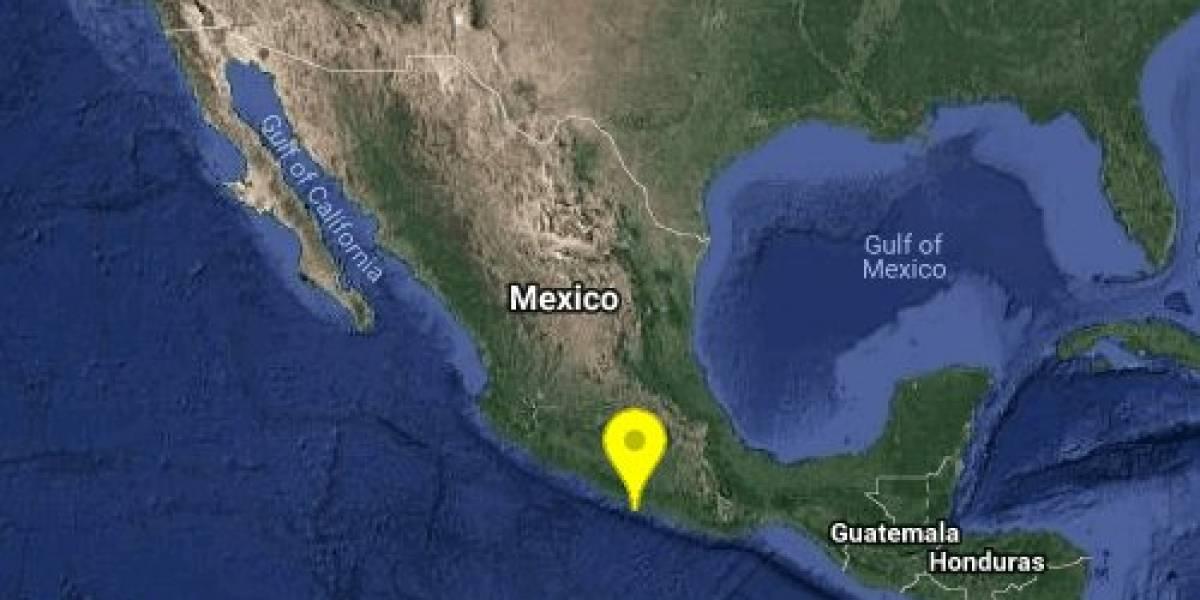Se registra sismo este 19 de septiembre en Guerrero