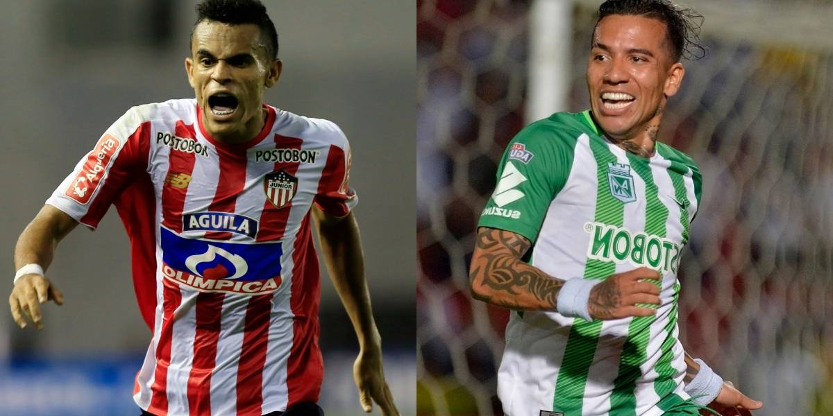 Atlético Nacional y Junior definen el primer semifinalista de la Copa Águila