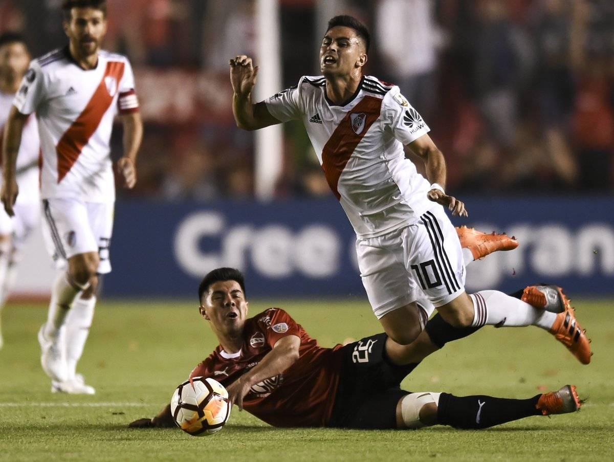 El Gato Silva jugó el primer tiempo / imagen: Getty Images