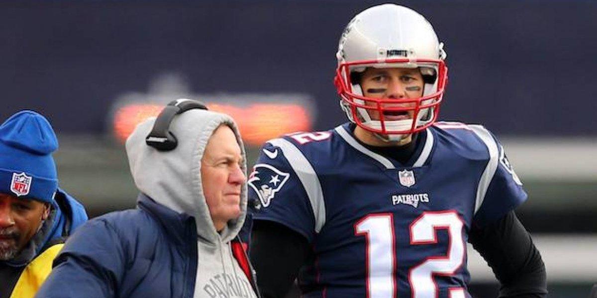 Tom Brady está harto de su coach Bill Belichick