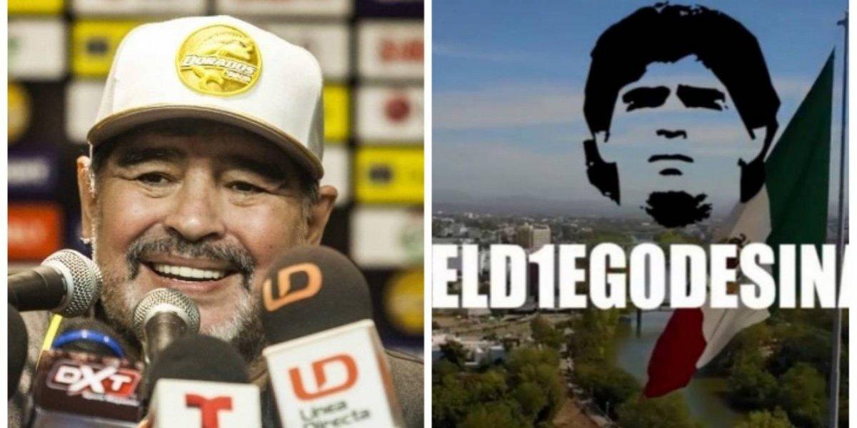 VIDEO. La canción a Diego Maradona en México que causa furor en las redes