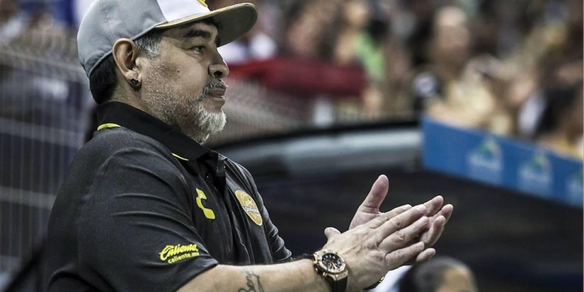 El noble gesto que Maradona hará para ayudar a los damnificados por las lluvias en Sinaloa