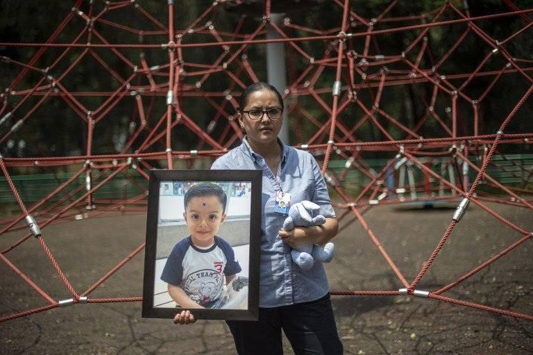Miriam Rodríguez Guise, sobreviviente del terremoto de México