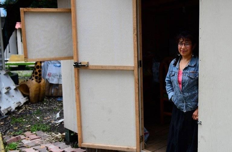 Irma Escamilla, sobreviviente del terremoto en México
