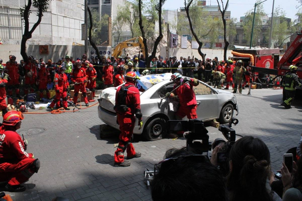 Protección Civil acompaña a México en materia de seguridad Foto: Nicolás Corte | Publimetro