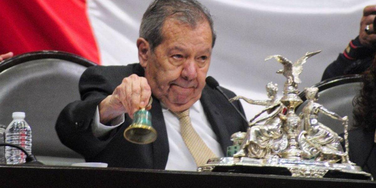 #Política Confidencial Muñoz Ledo prepara regreso del presidente al Congreso