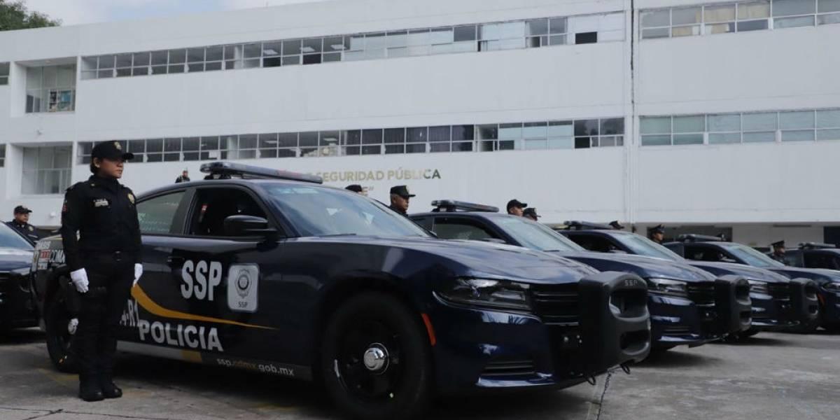 Policía evita que mujer sea extorsionada en la Venustiano Carranza