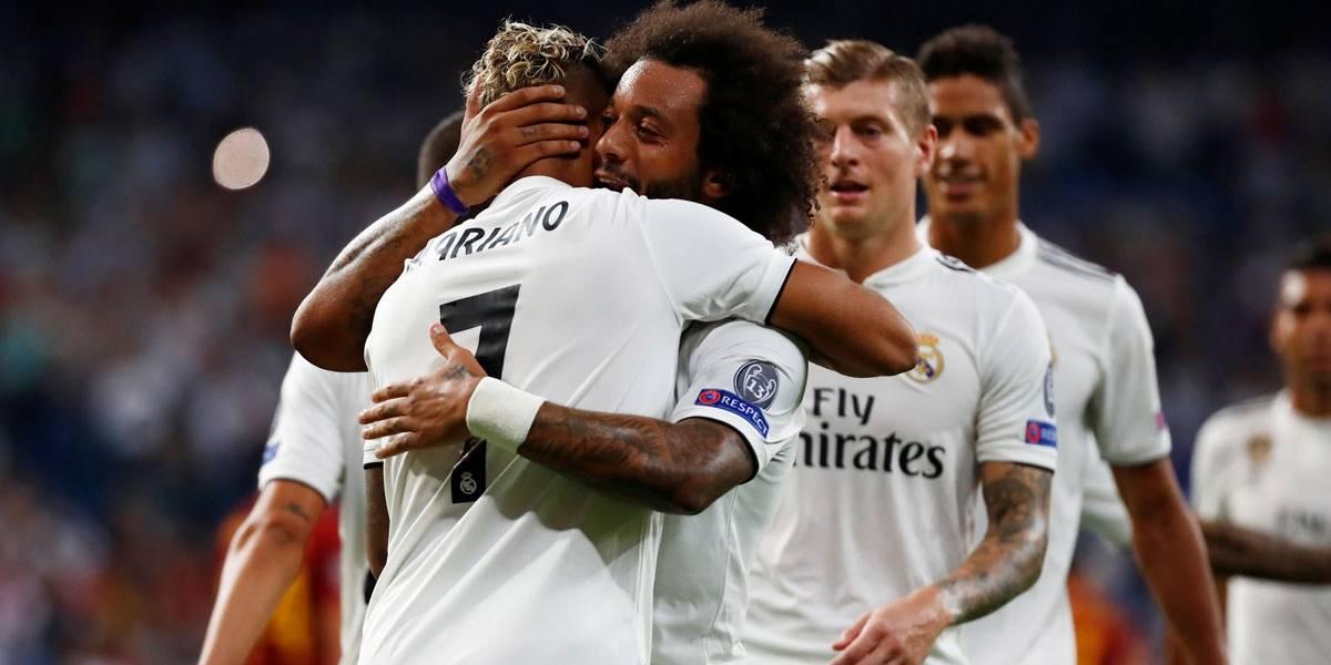 Champions League: Real Madrid bate o Roma