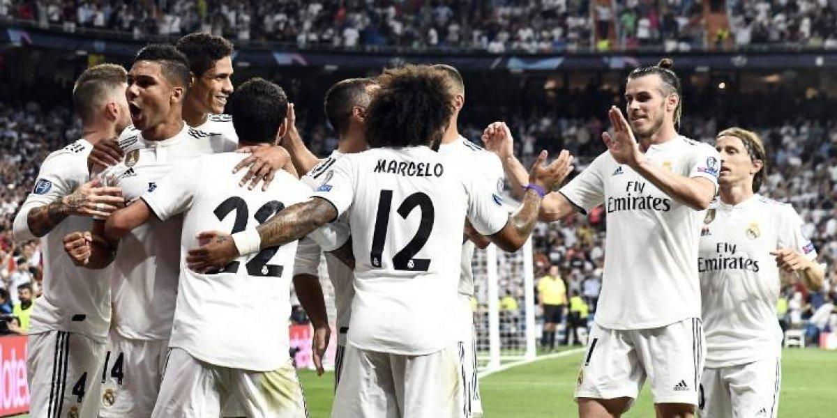 Dulce debut europeo para un Madrid sin Cristiano