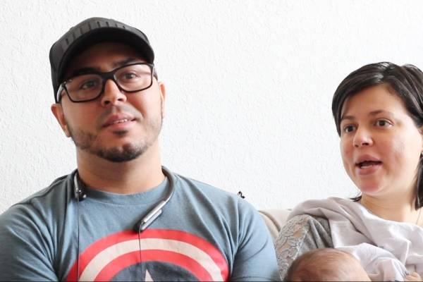 Carlos Jurado y Ginny Santos se establecieron en la Florida poco después de que el huracán María devastara Puerto Rico. David cordero mercado