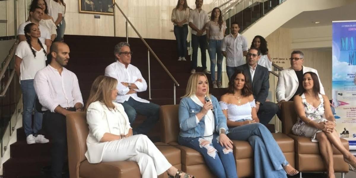 Mamma Mia! presenta elenco