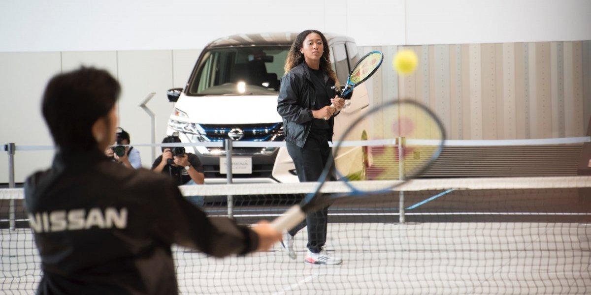 Campeona de Grand Slam Naomi Osaka será embajadora de Nissan