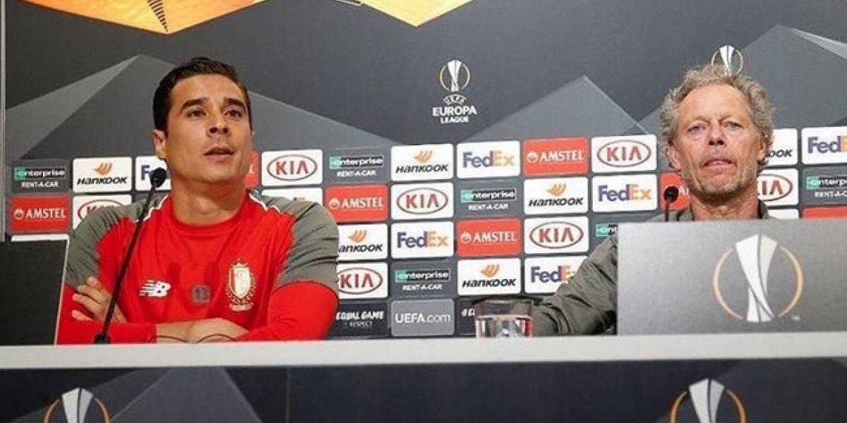 Ochoa confía en que el Standard haga grandes cosas en la Europa League