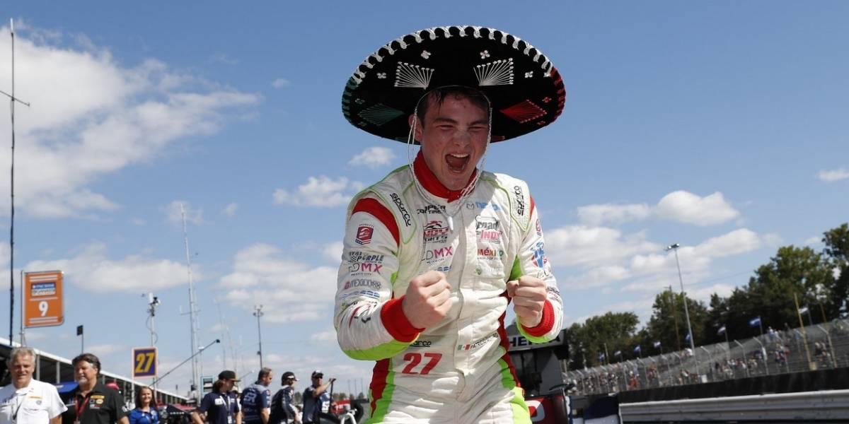 Patricio O'Ward correrá en la IndyCar en 2019