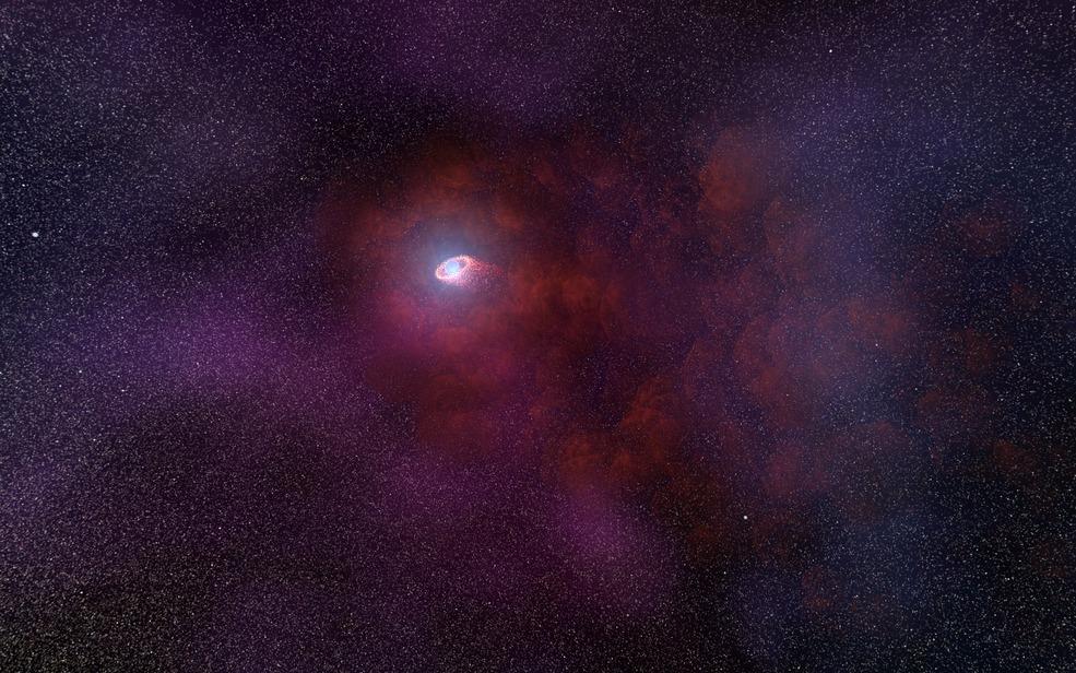 Descubren señales nunca antes vistas en una estrella de neutrones cercana a la Tierra