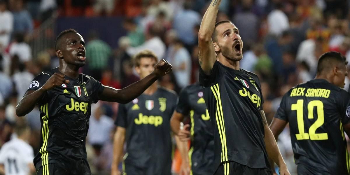Champions League: Juventus vence Valencia por 2 a 0