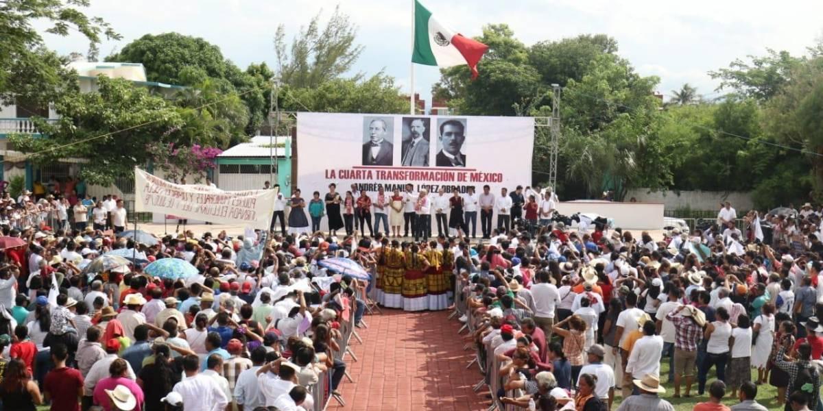 López Obrador anuncia inversión de más de 34 mil mdp para Oaxaca