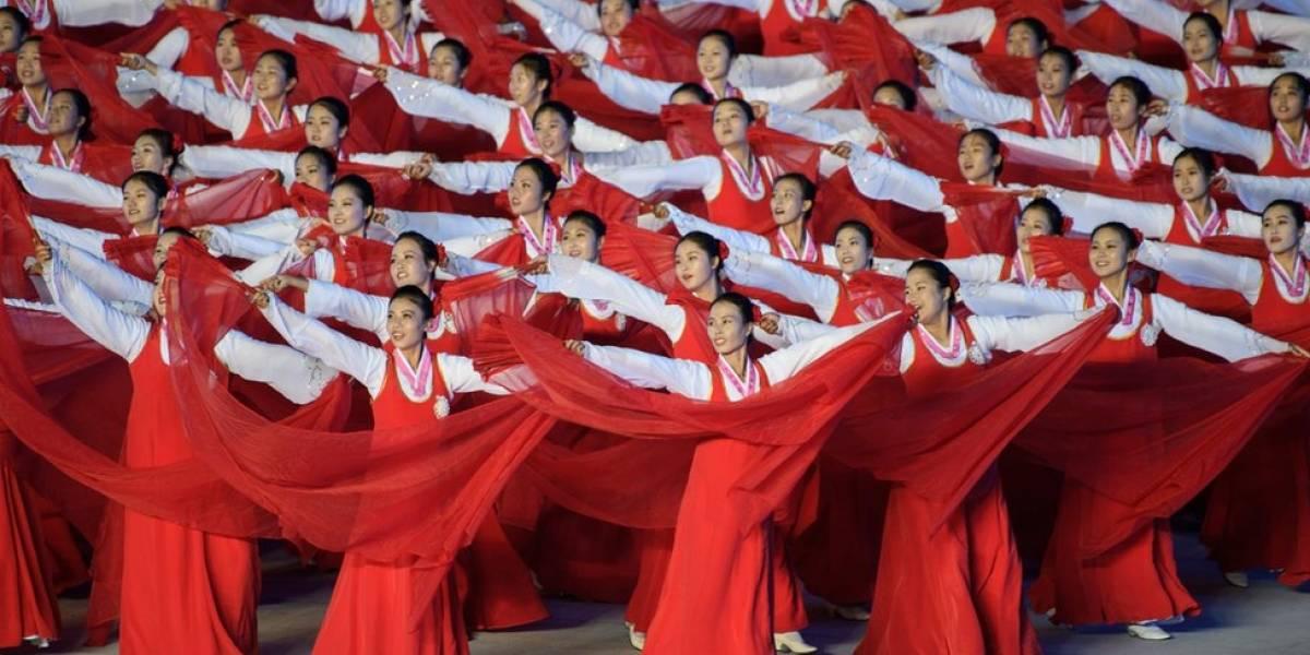 O discurso histórico do presidente sul-coreano no maior evento da Coreia do Norte
