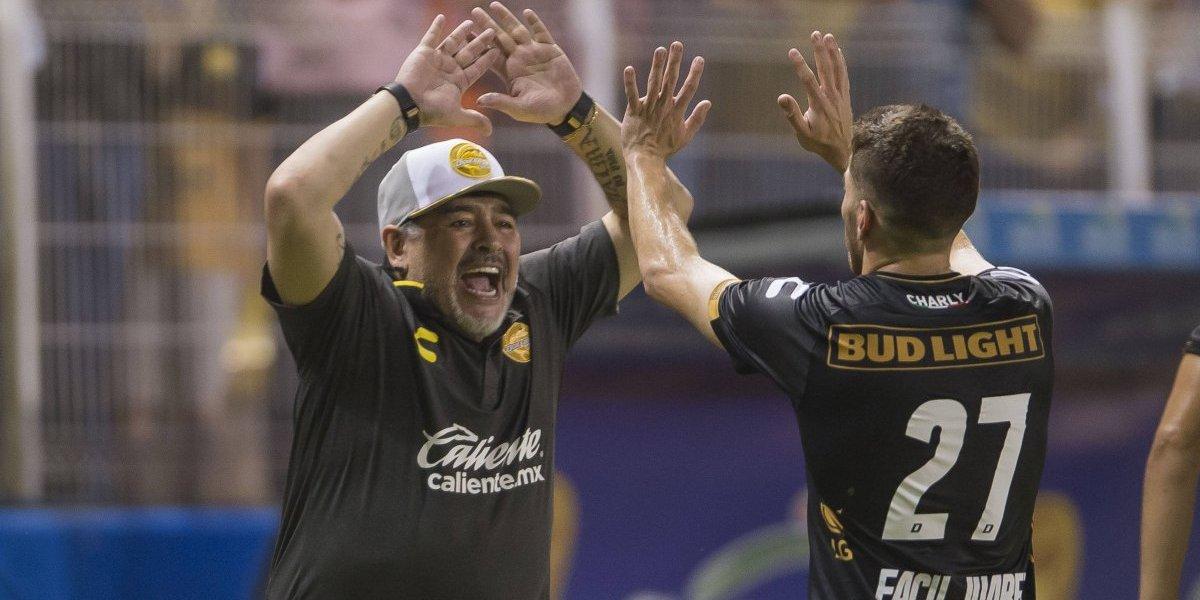 Maradona consigue su segundo triunfo con Dorados
