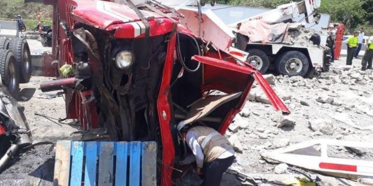 Minuto a minuto del accidente en Guaduas – Puerto Salgar