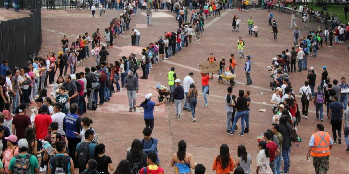 Más de 10 mil universitarios fueron brigadistas en el sismo del 19S