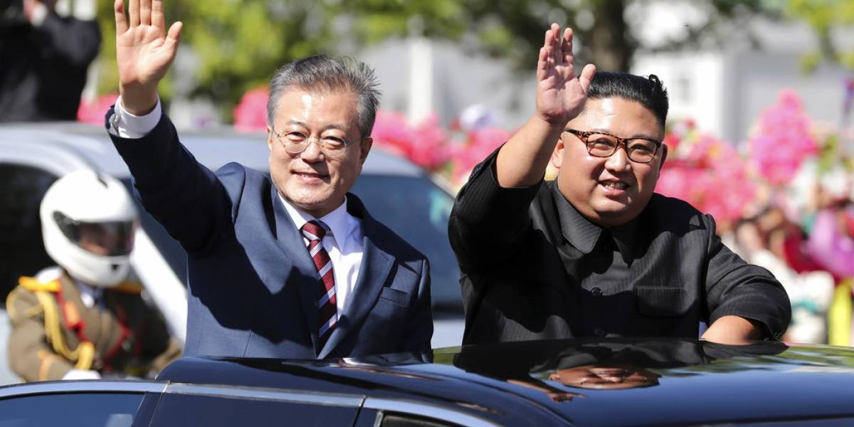 Kim Jong-un manda mensaje privado a Trump con presidente surcoreano