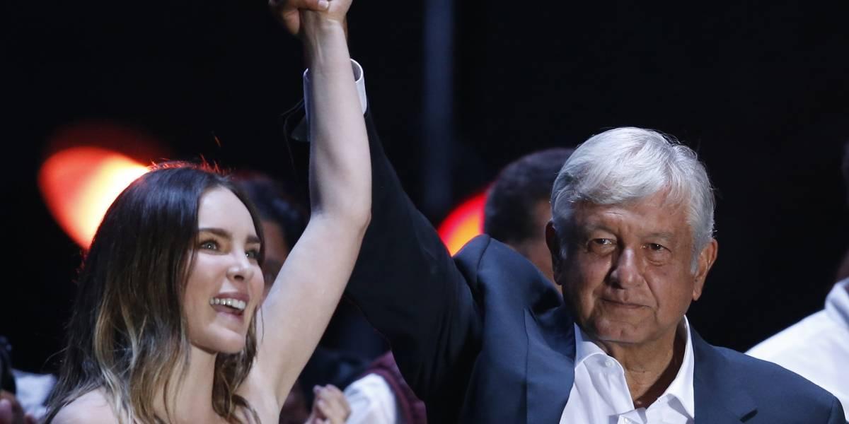 Belinda podría ser expulsada de México por participar en acto político