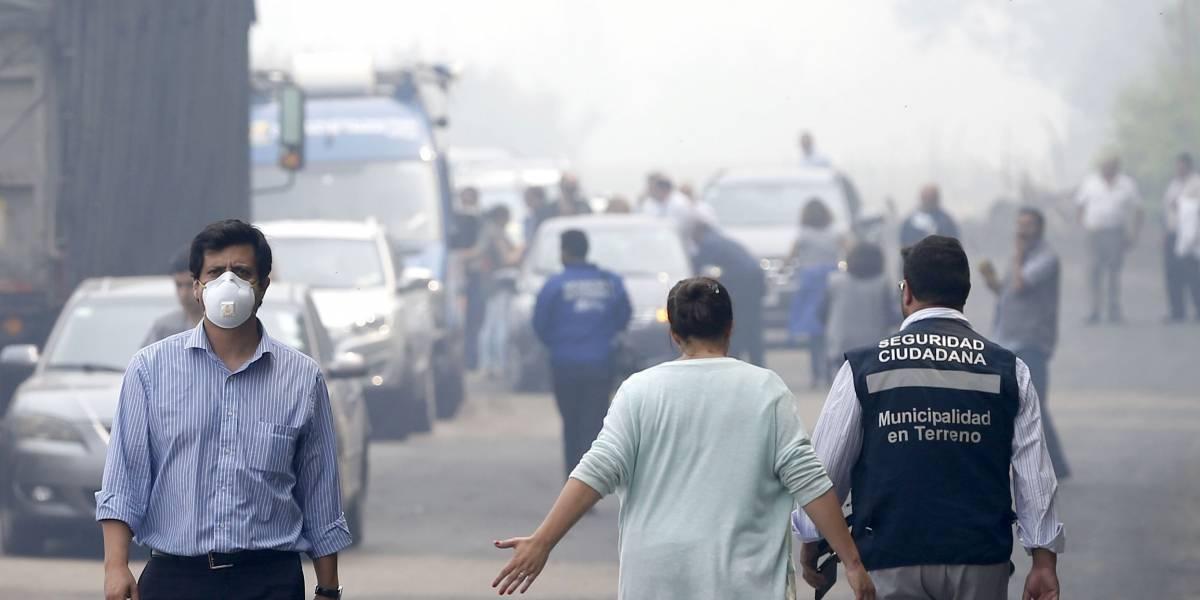 A pesar del incendio del vertedero: Tribunal Ambiental rechazó recurso de vecinos contra relleno Santa Marta