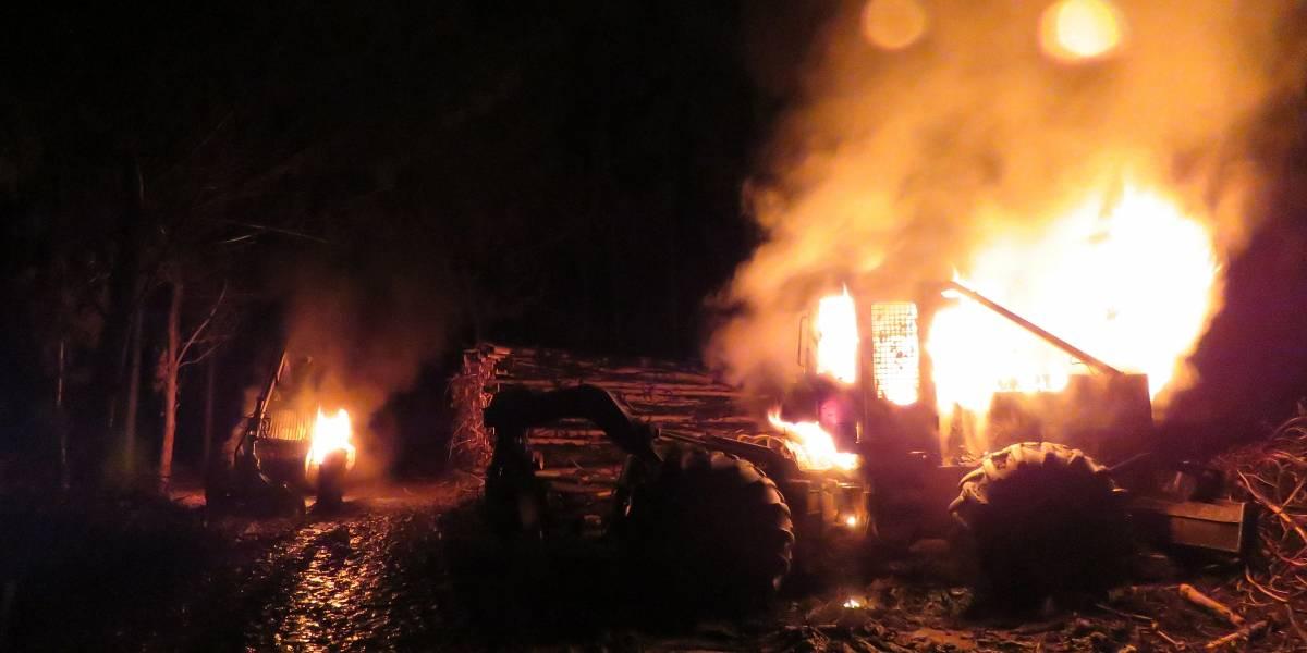 Piden libertad para Celestino Córdova: CAM se adjudica ataque incendiario en Arauco