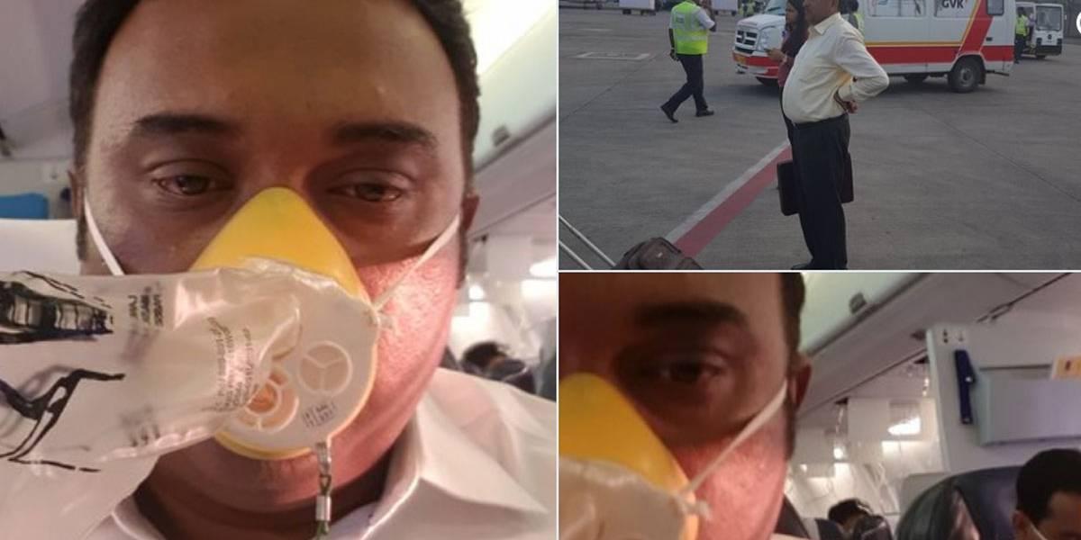 Tripulação esquece de pressurizar avião e passageiros sangram pelo nariz e ouvido