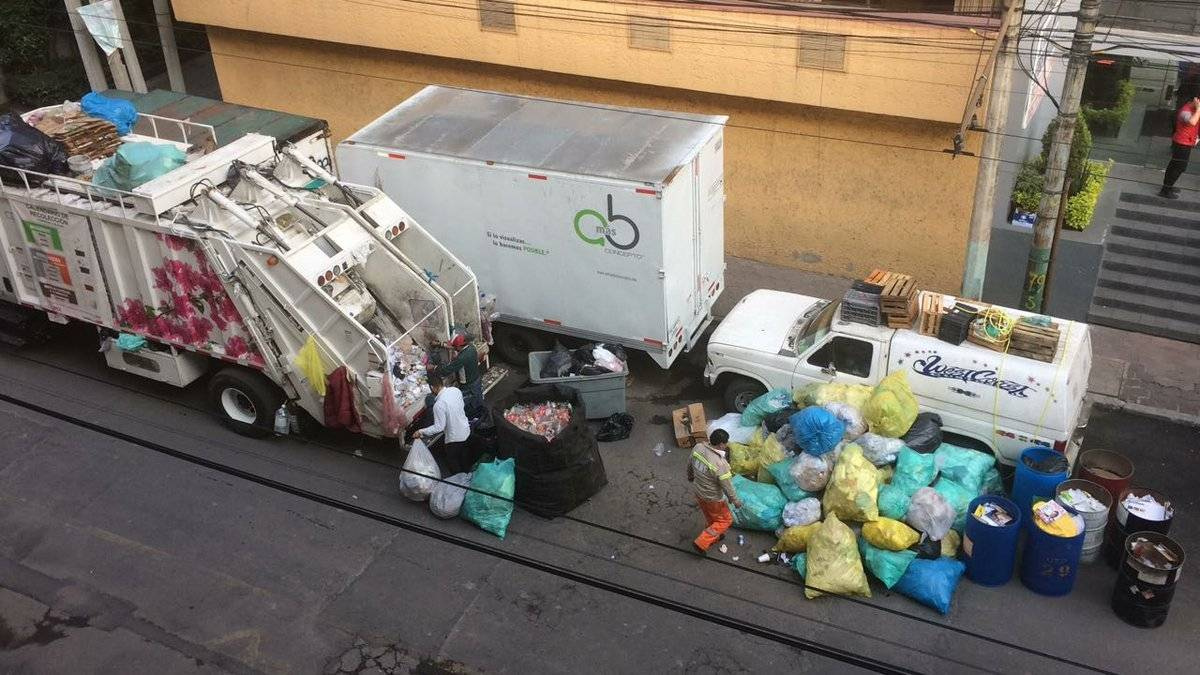 la nueva norma para la separación de basura entró en vigor en junio de 2017. Cortesía.