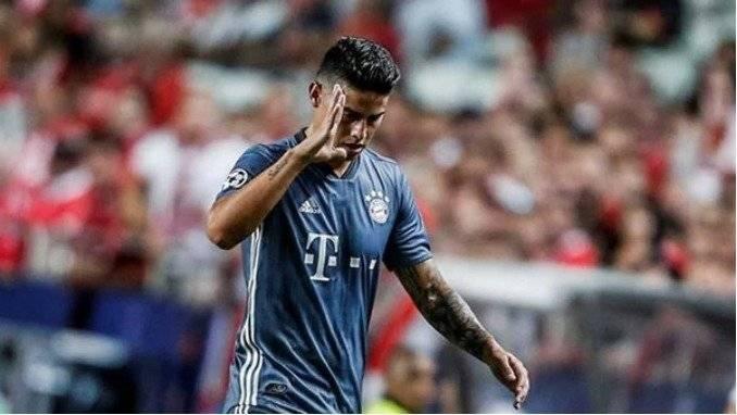 El gesto de James Rodríguez que indignó a miles de fanáticos Getty Images