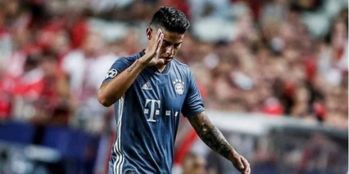El gesto de James Rodríguez que indignó a miles de fanáticos