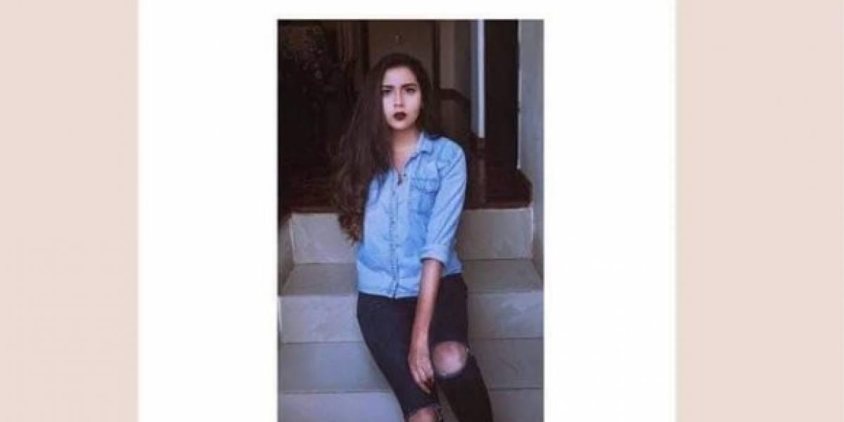 Familiares buscan a Ana Paula Mayorga, desaparecida en Ambato