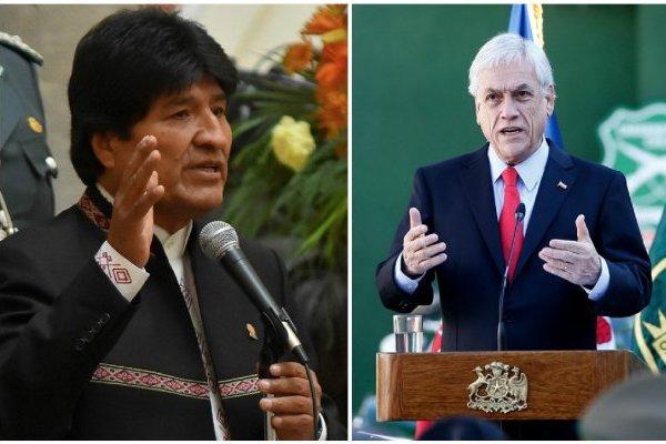Evo y Piñera coincidirán en la ONU a días del fallo de La Haya