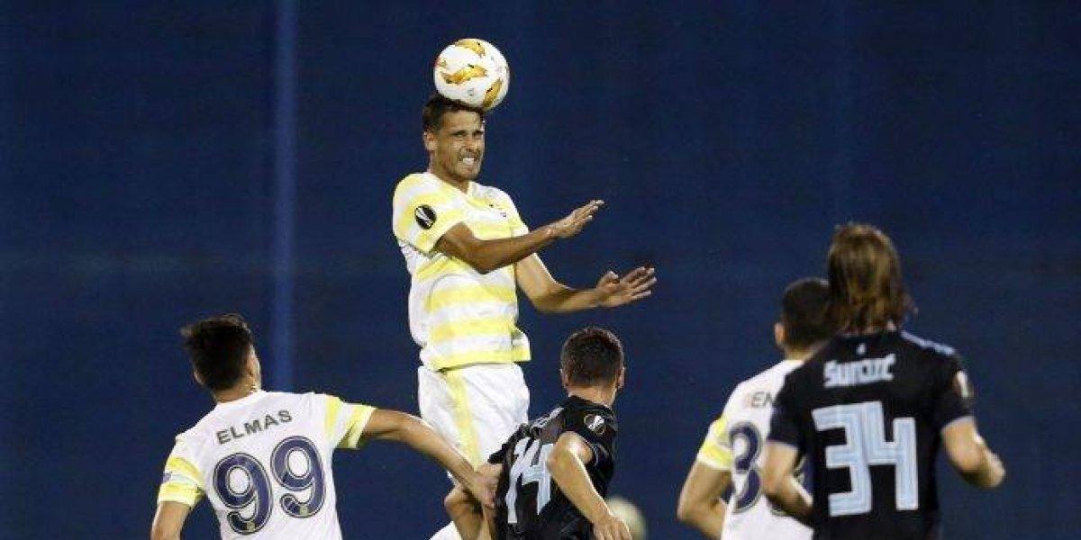 Diego Reyes y Fenrerbahce reciben goleada en la Europa League