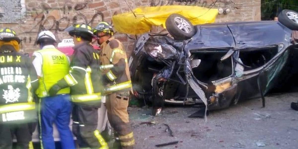 Suspenden a la Ruta 18 tras accidente en Cuautepec, Gustavo A. Madero