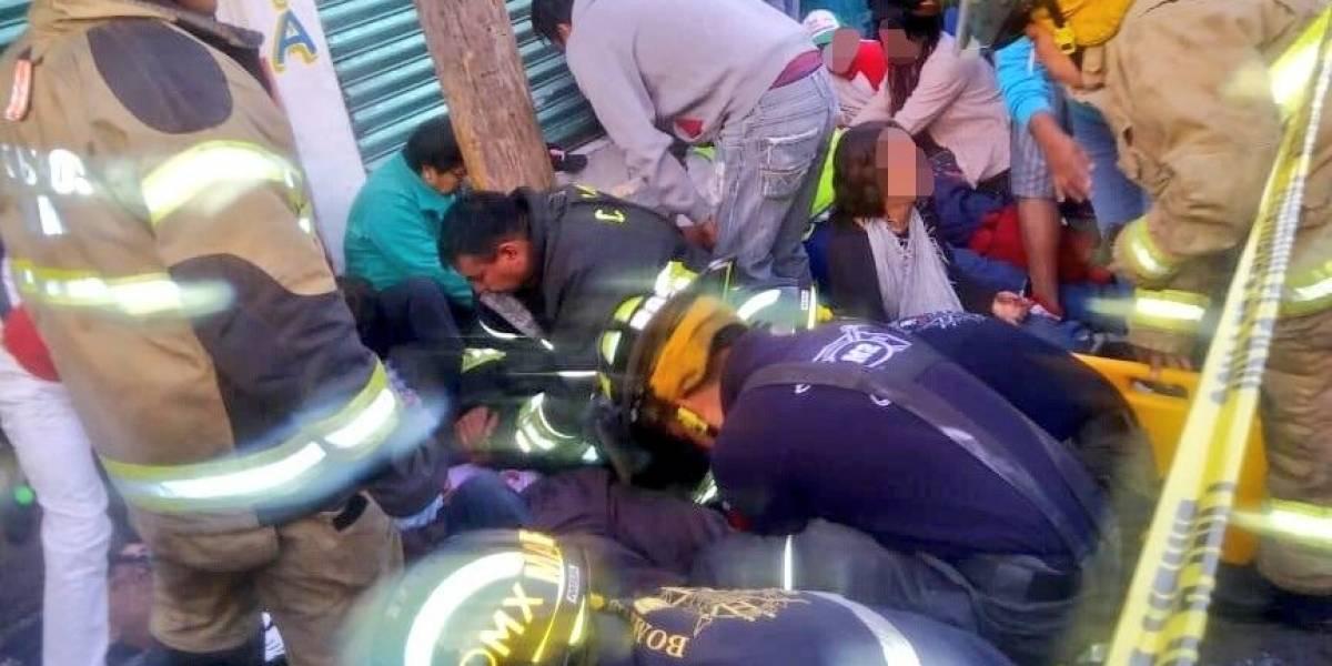 Al menos 30 heridos tras choque múltiple en Gustavo A. Madero