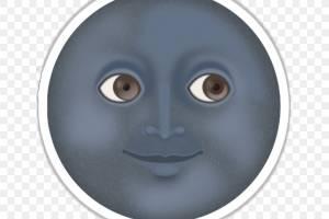 Géminis:La Luna representa dos caras, la dualidad de este signo.