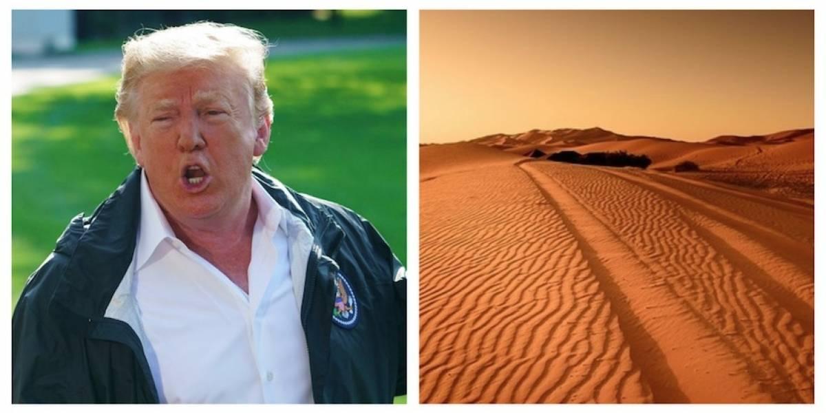 España: Trump sugirió un muro en el Sahara para frenar la inmigración