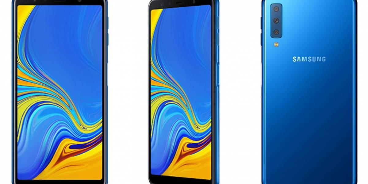 Tecnologia: Samsung acaba de lançar um smartphone com câmera tripla