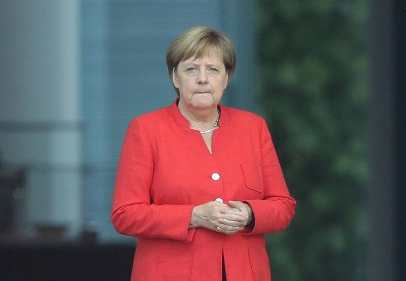Trump contra Angela Merkel