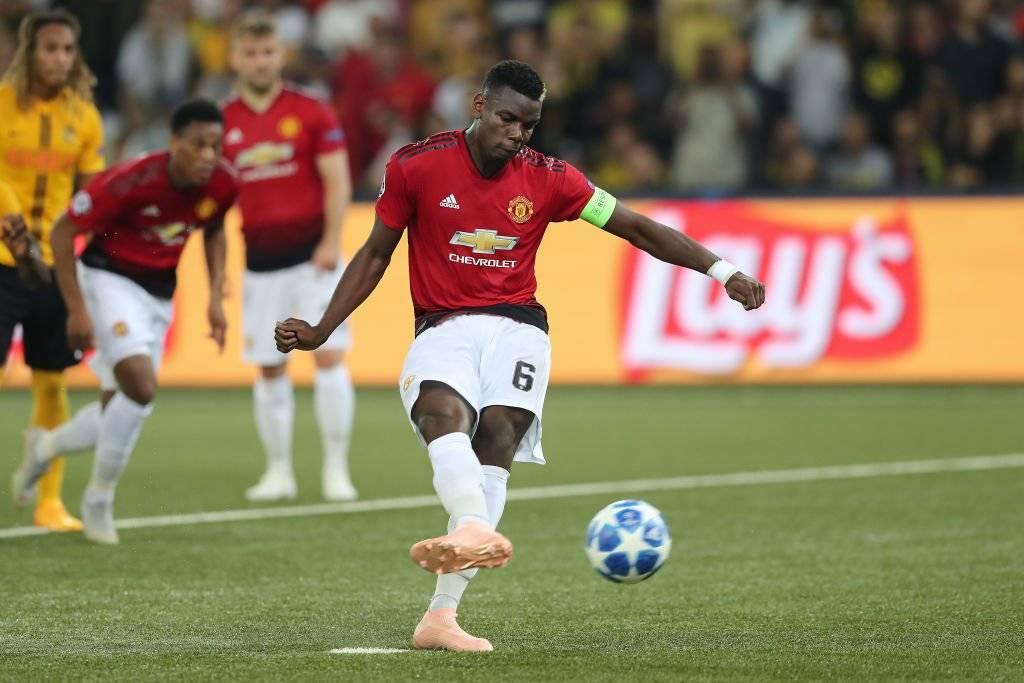 El United de Mourinho tuvo un debut triunfal en la Champions League 2018-2019 al vencer 3-0 al Young Boys en el pasto sintético de Berna / Foto: Getty Images