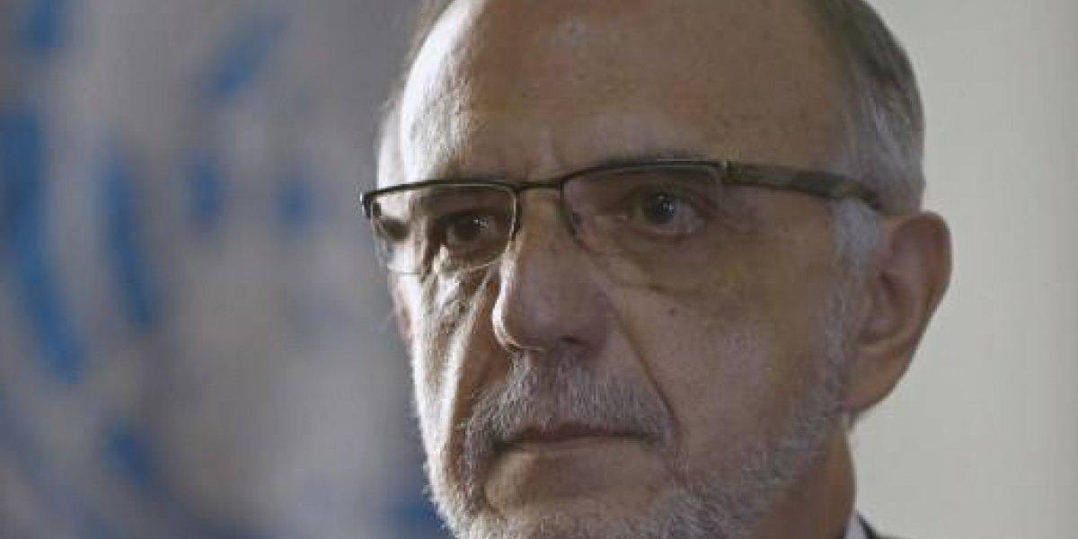 Comisionado Velásquez se pronuncia sobre condena contra Roxana Baldetti