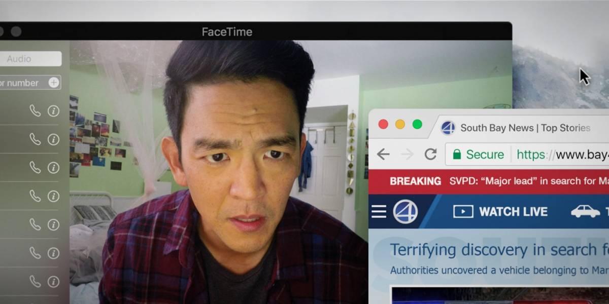 Buscando... constrói suspense nas telas do celular e do computador