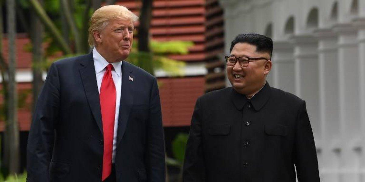 """Kim Jong-un quiere otra cumbre con Trump en """"fecha próxima"""""""